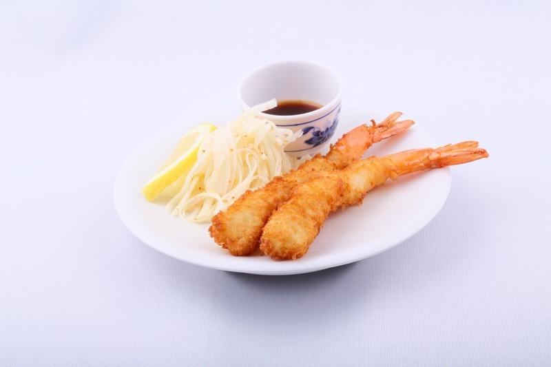 Eby fry la paire (crevettes panées)