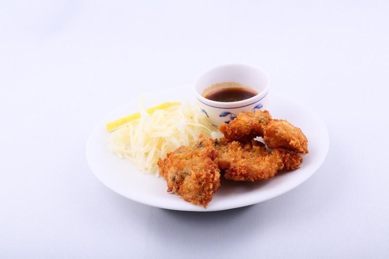 Kaky fry (huîtres panées)
